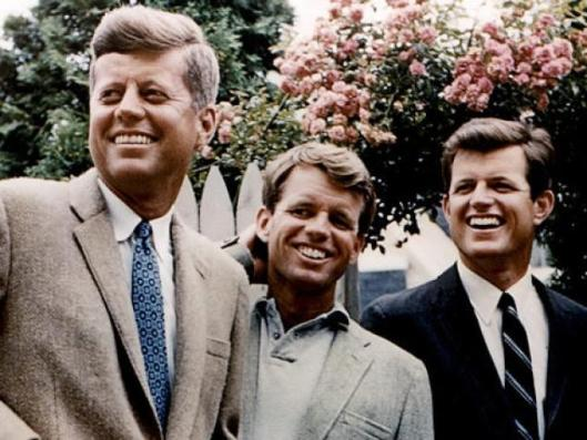 The six Kennedy brothers: John, Jack, Bobby, Robert, Ted and Edward